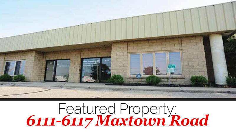 Maxtown Road Property Has Great Mix of Warehouse, Office Space