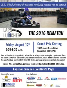 2016 Laps for Lunches Digital Invite
