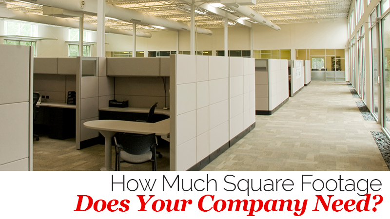 How Much Square Footage Does Your Company Need?