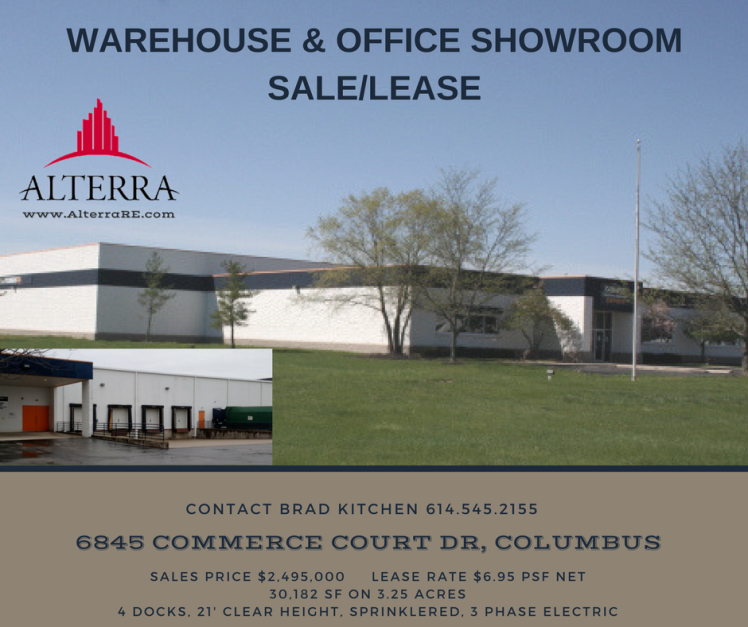 Ideal warehouse property with office-showroom – for sale or lease