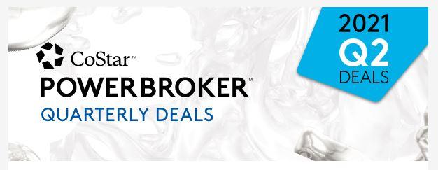 CoStar Power Broker Quarterly Deals Winner!